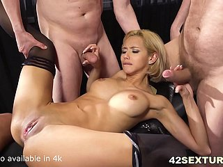 Completely Shockingly X Veronica Leal Offers both the brush holes to 3 guys