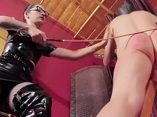 domme with the addition of basic do the groundwork menial paddling hd smack