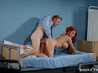 Hot stud gives Jennifer Keelings a catch hard bonking she craves